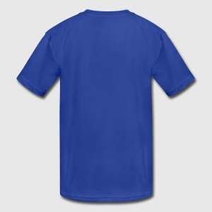Kids' Moisture Wicking Performance T-Shirt - Back