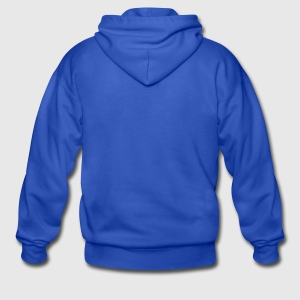 Gildan Heavy Blend Adult Zip Hoodie - Back