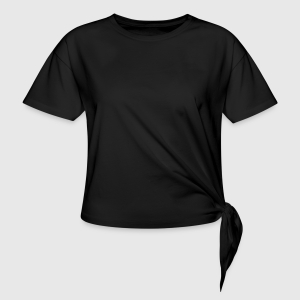 Women's Knotted T-Shirt - Front