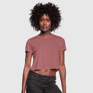 Women's Cropped T-Shirt - Front