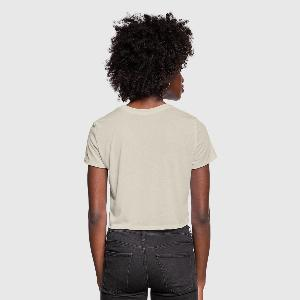 Women's Cropped T-Shirt - Back