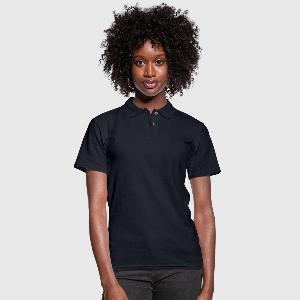 Women's Pique Polo Shirt - Front