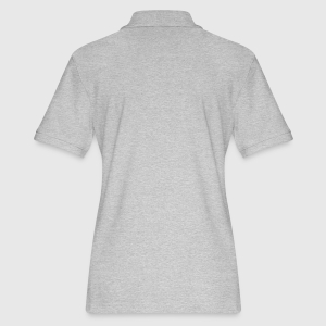 Women's Pique Polo Shirt - Back