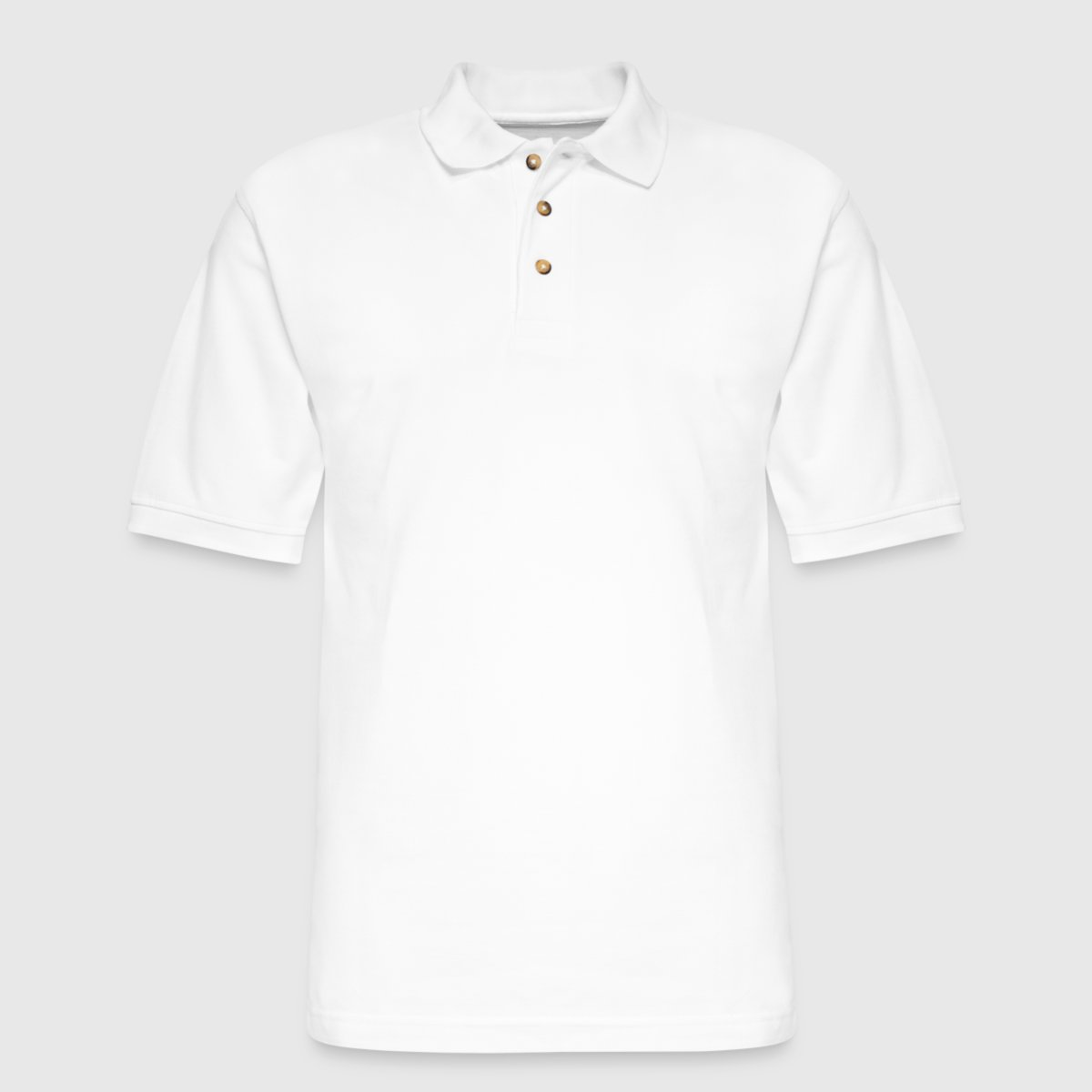 Men's Pique Polo Shirt - Front