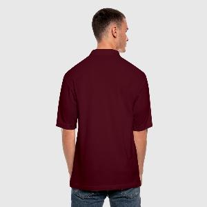 Men's Pique Polo Shirt - Back