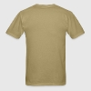 Khaki Assault Rifle silhouette  Men - Men's T-Shirt