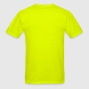 Illuminati Insane Logo Neon Pink - Safety Yellow - Men's T-Shirt