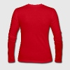 Red B&W WASP Long Sleeve Shirts - Women's Long Sleeve Jersey T-Shirt