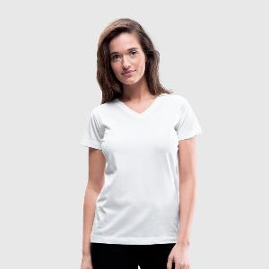 Women's V-Neck T-Shirt - Front