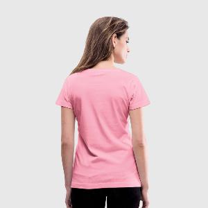 Women's V-Neck T-Shirt - Back