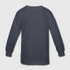 Navy wide open mouth Kids' Shirts - Kids' Long Sleeve T-Shirt