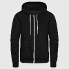 Fortem Gym Strong Zip Hoodie - Unisex Fleece Zip Hoodie by American Apparel