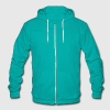 athsma puffer or inhaler Zip Hoodies/Jackets - Unisex Fleece Zip Hoodie by American Apparel