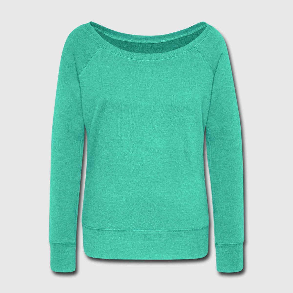 Women's Wideneck Sweatshirt - Front