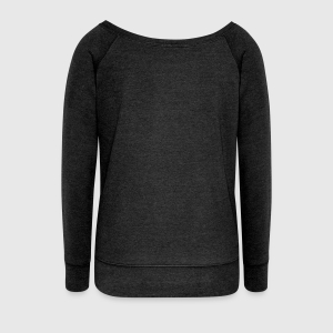 Women's Wideneck Sweatshirt - Back