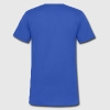BE - Men's V-Neck T-Shirt by Canvas