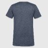 Before Yoga / After Yoga - Men's V-Neck T-Shirt by Canvas