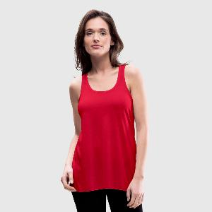 Women's Flowy Tank Top by Bella - Front