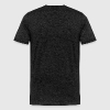 Winemaker Wine Bottle On Side Word Cloud Black - Men's Premium T-Shirt