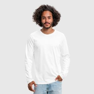 Men's Premium Long Sleeve T-Shirt - Front