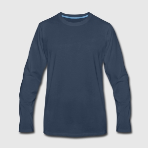e4635eda2c20 Personalized Men's Premium Long Sleeve T-Shirt | Spreadshirt