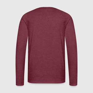 Men's Premium Long Sleeve T-Shirt - Back