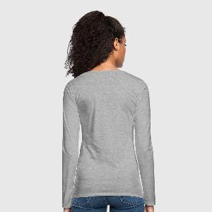 Women's Premium Long Sleeve T-Shirt - Back