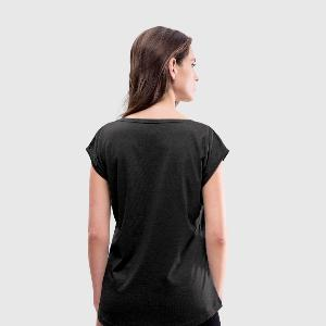 Women's Roll Cuff T-Shirt - Back