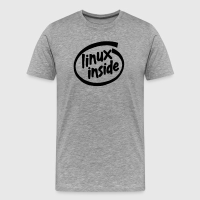 Linux Inside - Tee - Men's Premium T-Shirt