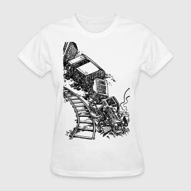 Train Wreck - Women's T-Shirt