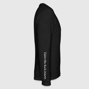 Men`s long sleeve Calm the fuck down - Men's Long Sleeve T-Shirt by Next Level