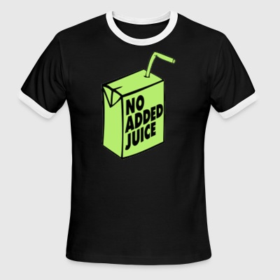 No added juice t'shirt - Men's Ringer T-Shirt