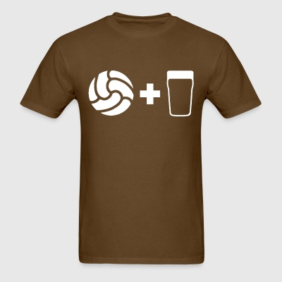Football & Beer - Men's T-Shirt