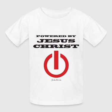 Powered by Jesus dbl sided | HEartHeaven - Kids' T-Shirt