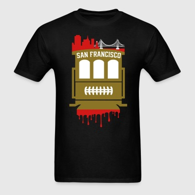 San Francisco Cable Car  - Men's T-Shirt
