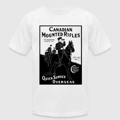 RCMP Tee - Men's T-Shirt by American Apparel