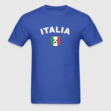 Italy Football Supporter T-Shirt  - Men's T-Shirt
