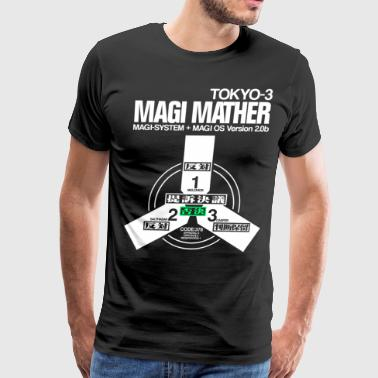 MAGI MATHER (BLACK) - Men's Premium T-Shirt