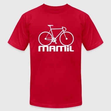 MAMiL - Men's T-Shirt by American Apparel
