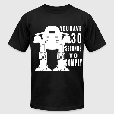 Robot Cop - Men's T-Shirt by American Apparel