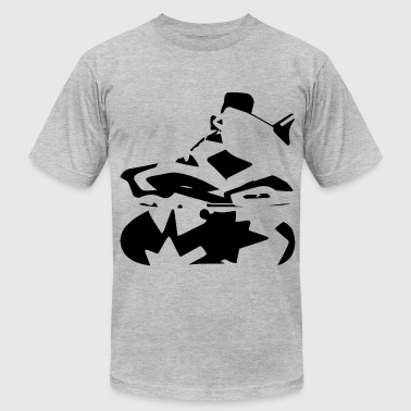 J's 6's O.R.E.O  - Men's T-Shirt by American Apparel