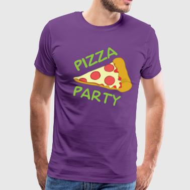 Pizza Party Shirt - Men's Premium T-Shirt