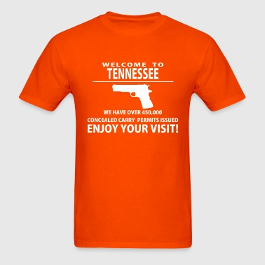 Welcom to Tennessee - Men's T-Shirt