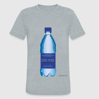 Living Water - Unisex Tri-Blend T-Shirt by American Apparel