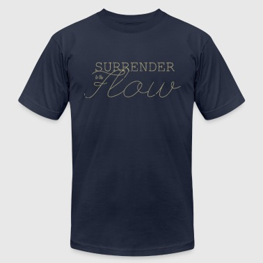 Lizards ~ Surrender to the Flow T-Shirts - Men's Fine Jersey T-Shirt