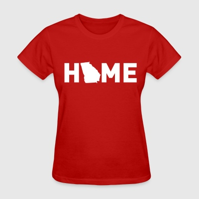 Home is where Georgia is - Women's T-Shirt