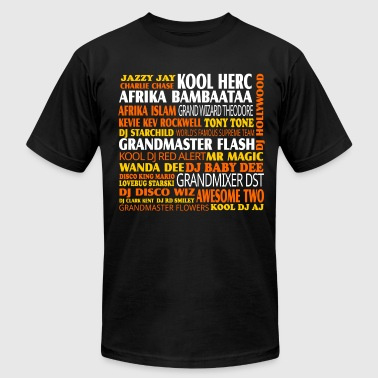 Hip Hop Pioneers Black Tee - Men's Fine Jersey T-Shirt