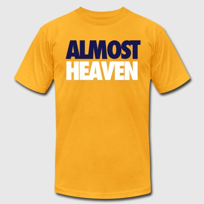Almost Heaven T-Shirts - Men's T-Shirt by American Apparel