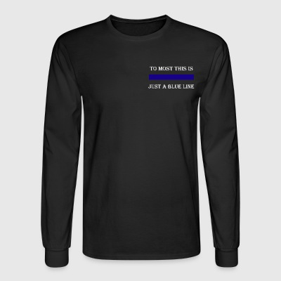 To Most This is TEW Long Sleeve Shirts - Men's Long Sleeve T-Shirt
