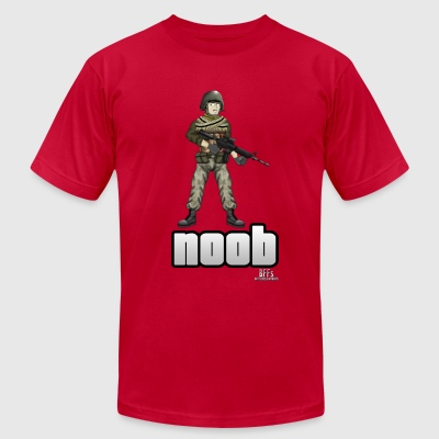 Battlefield Friends - Noob - Men's T-Shirt by American Apparel